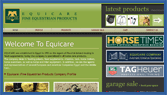Equicare Products : Fine Equestrian Products :Egypt :ZANS Pro Web Solution: Website Design & Development in Egypt